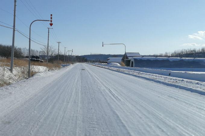北海道冬運転
