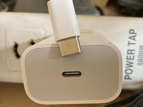 USB-C Lightningケーブル